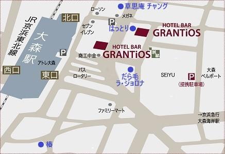 周辺地図 飲食店あり